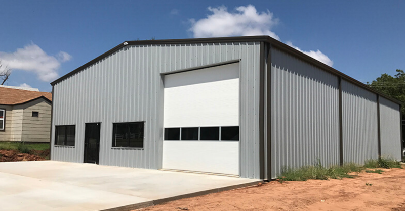 NEEDING A GARAGE? CONSIDER A METAL BUILDING