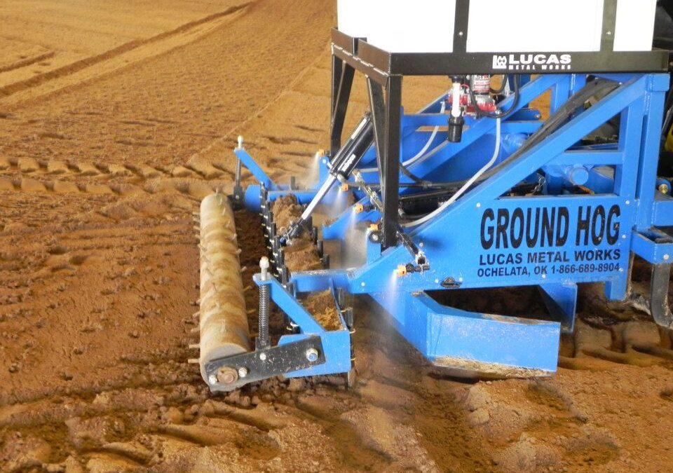 Ground Hog, The Only Arena Groomer You'll Need