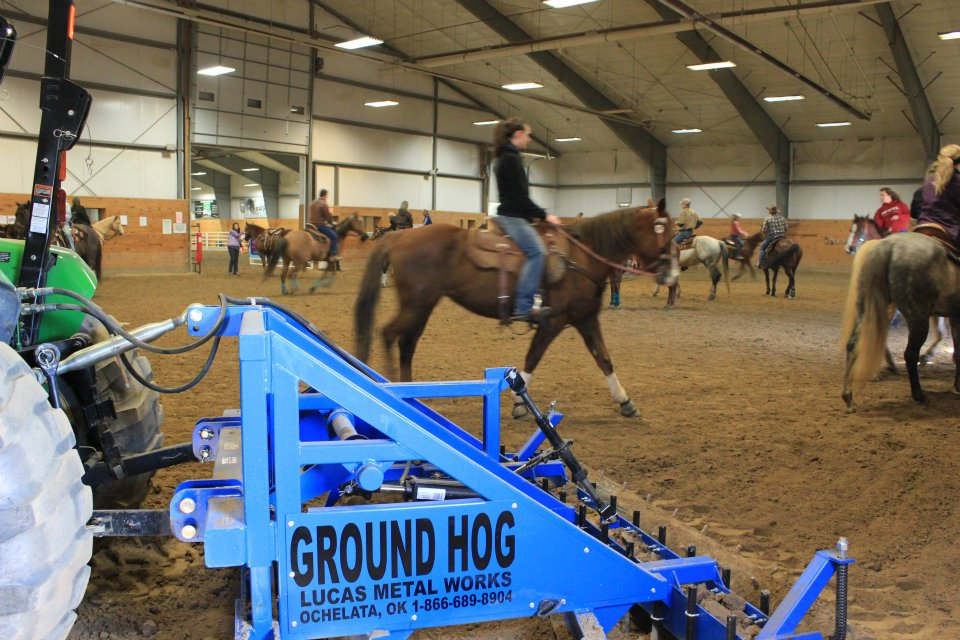 Trust The Ground Hog For The Safest Dirt For Horse And Rider